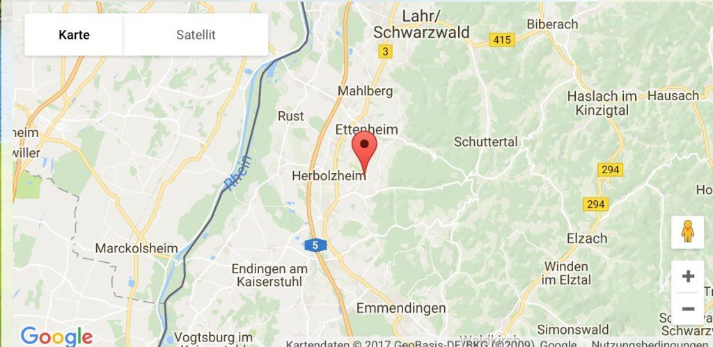 Lage GC Breisgau